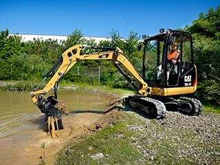 Caterpillar Announces New Cat® D Series Mini Excavators