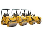 Cat CB24 Utility Roller - Heavy equipments rental