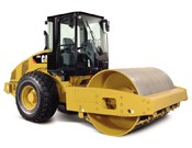 Cat CS56 Vibratory Soil Compactor - Heavy equipments rental