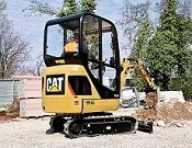 Cat 301.4C Mini Hydraulic Excavator - Heavy equipments rental
