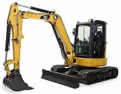 Cat 305D CR Mini Hydraulic Excavator - Heavy equipments rental