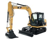 Cat 307D Hydraulic Excavator - Heavy equipments rental