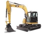 Cat 308D CR Mini Hydraulic Excavator with Fixed Boom - Heavy equipments rental