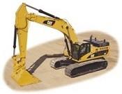 Cat 345D / 345D L Hydraulic Excavators - Heavy equipments rental