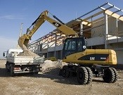 Cat M316D Wheel Excavator