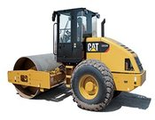Cat CS533E Vibratory Soil Compactor - Heavy equipments rental