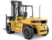 Cat, DP100 Straight Mast Forklift - Heavy equipments rental