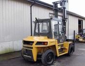 Cat, DP70 Straight Mast Forklift - Heavy equipments rental