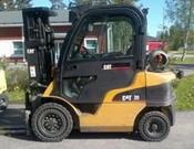 Cat, GP20 Straight Mast Forklift - Heavy equipments rental